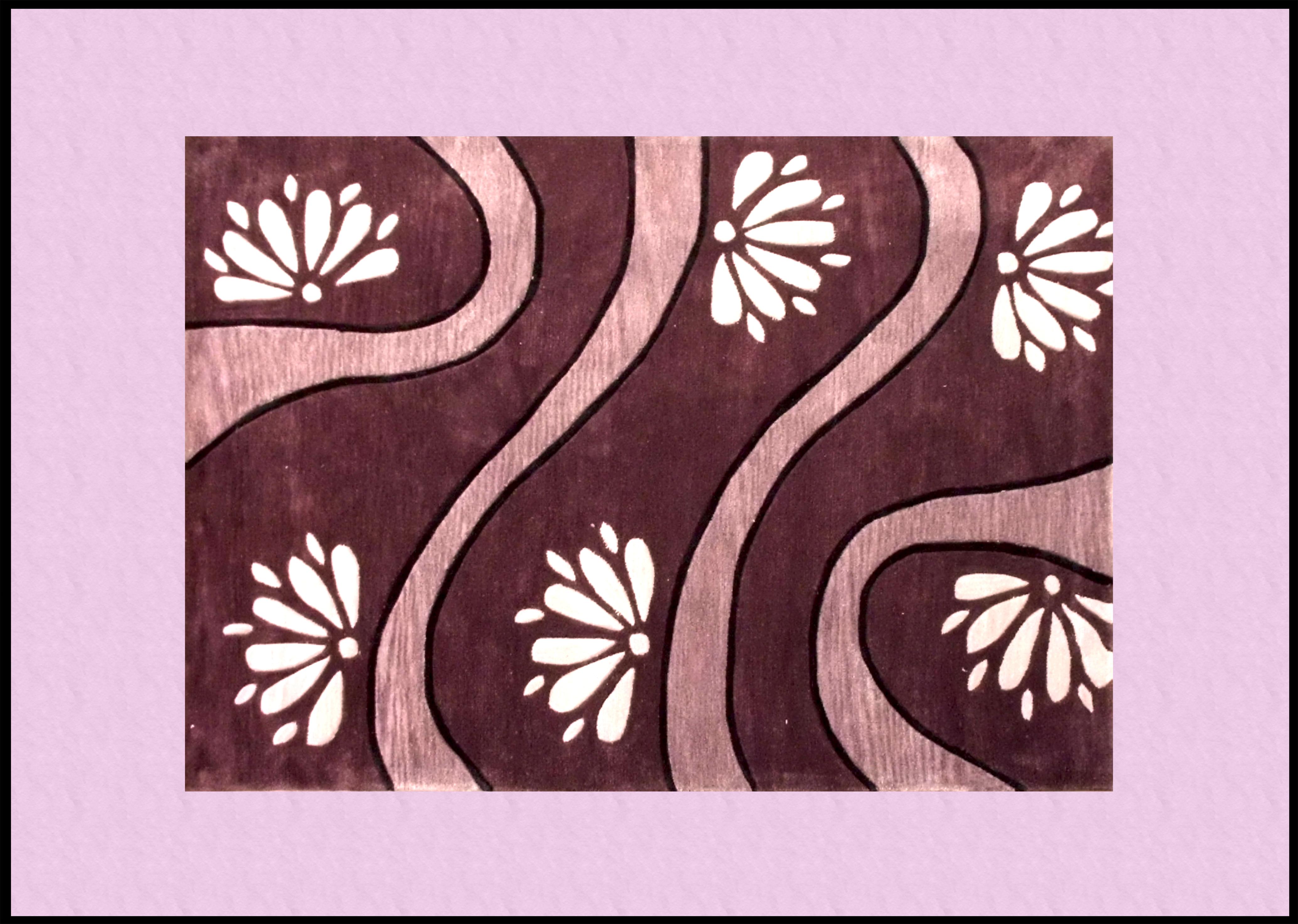 Tappeti shaggy tappeti per il soggiorno decorati for Tappeti soggiorno