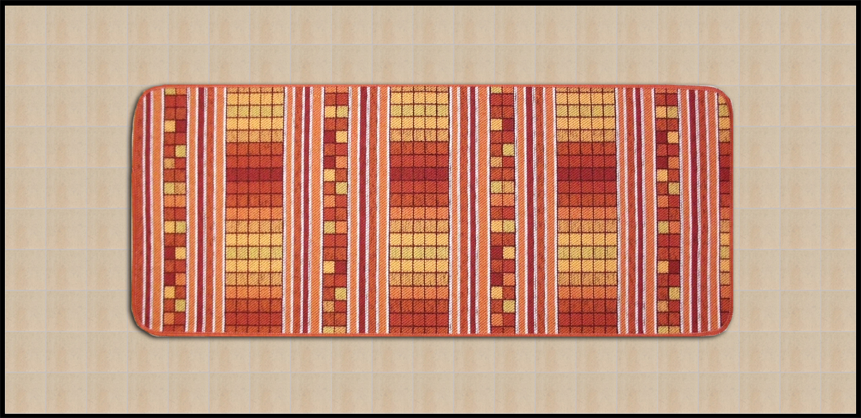 Tappeti shaggy tappeti che arredano la tua cucina a quadretti - Quadretti per cucina ...