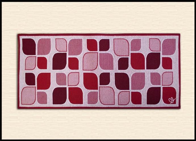 Tappeti per il bagno decoro moderno shoppinland - Tappeto bagno rosso ...