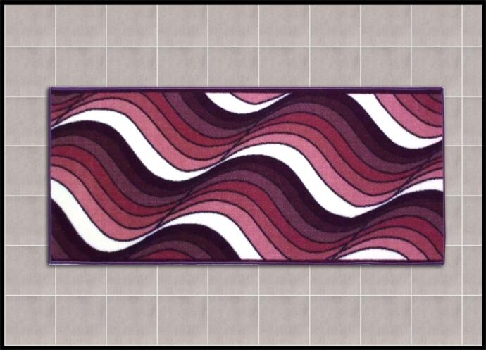 Coloratissimi tappeti per bagno design onde shoppinland shoppinland - Tappeti per bagno ...