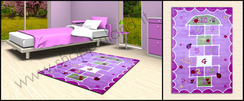 Tappeti shaggy rinnova la camera dei bambini con tappeti for Tappeti camera ragazzi