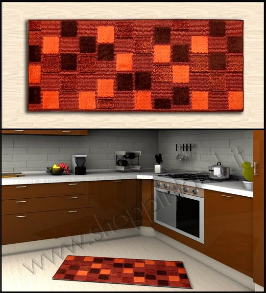 Tappeti shaggy scopri i nostri tappeti per la cucina a prezzi bassi con decoro mosaico colorato - Tappeti per cucina ...