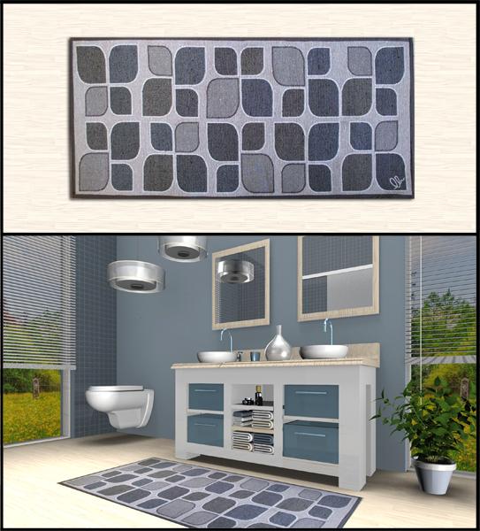 Tappeti shaggy rinnova il tuo bagno con gli originali tappeti foglia stilizzata a prezzi outlet - Bagno on line prezzi ...