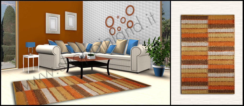 Tappeti per il soggiorno moderni online in cotone shoppinland  Tappeti in Ba...