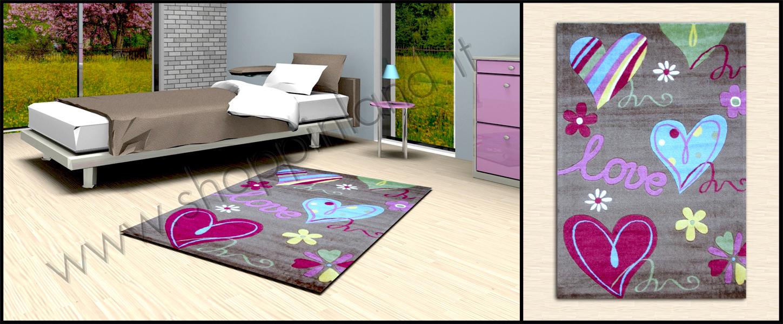 tappeti bambini online a prezzi scontati decoro cuore atossici offerta shoppinland