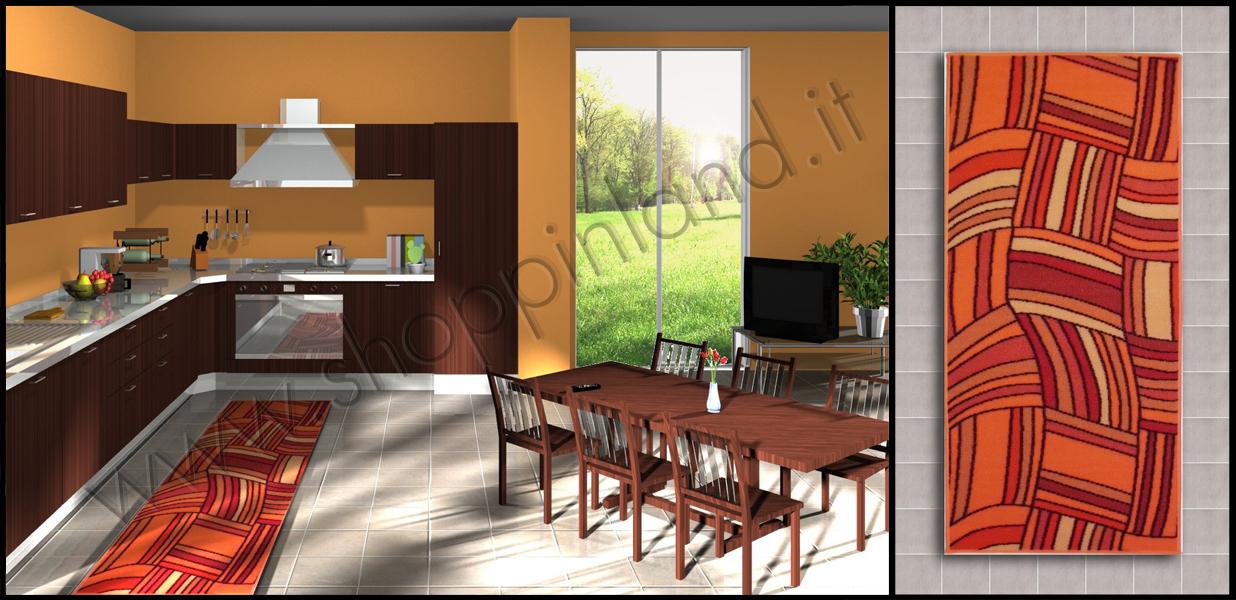 Arreda il bagno e la cucina con i tappeti moderni shoppinland ...