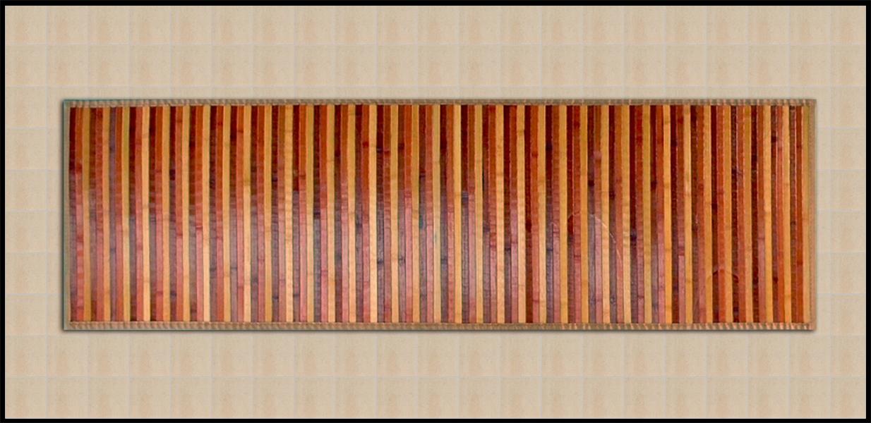 tappeti in bamboo per la cucina on line a prezzi bassi shoppinland colore beige