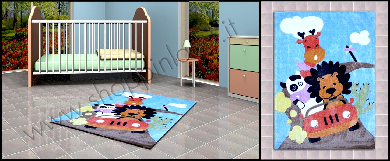 tappeti online a prezzi bassi per i bambini atossici e anallergici leoncino shoppinland