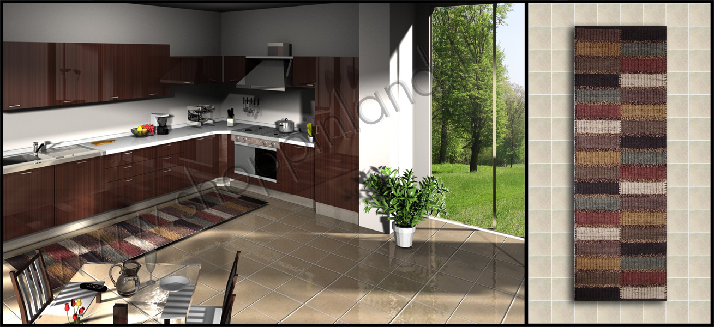 Tappeti per la cucina a prezzi outlet tappeti shoppinland - Vernici lavabili per cucina ...