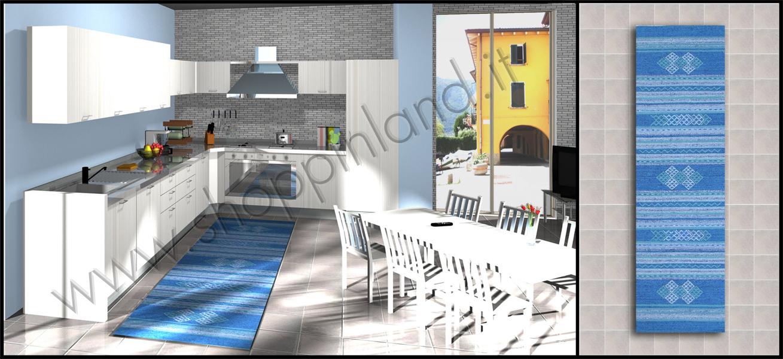 arreda il bagno e la cucina con i tappeti moderni shoppinland ... - Cucine Moderne Prezzi Bassi