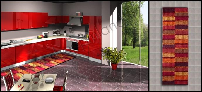 Passatoie in cotone per la cucina: arreda con tappeti moderni e a ...