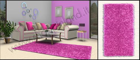 tappeti shaggy color malva per soggiorno pelo lungo prezzi bassi
