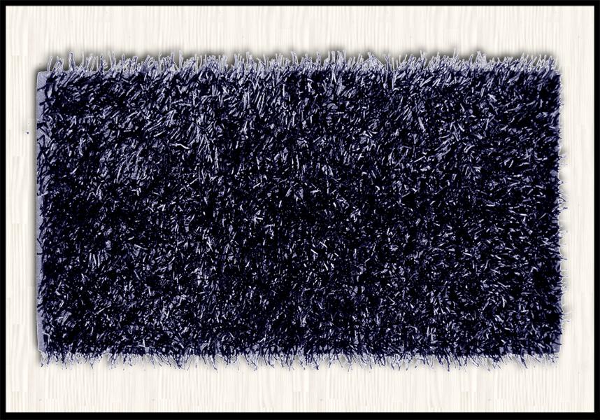 tappeti shaggy online a prezzi bassi colore nero pelo lungo