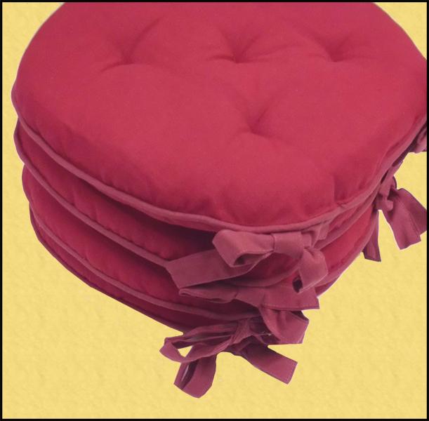 Arreda la tua cucina con i cuscini in cotone per le sedie ...