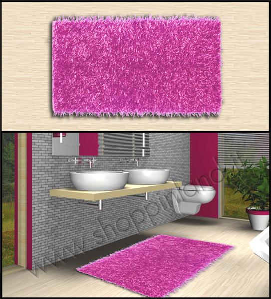 Tappeti shaggy tappeti per il bagno eeleganti e a prezzi - Tappeti moderni per bagno ...
