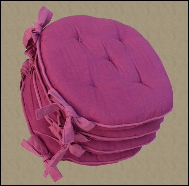 Cuscini per le sedie in cotone che arredano : (Tronzano Vercellese)