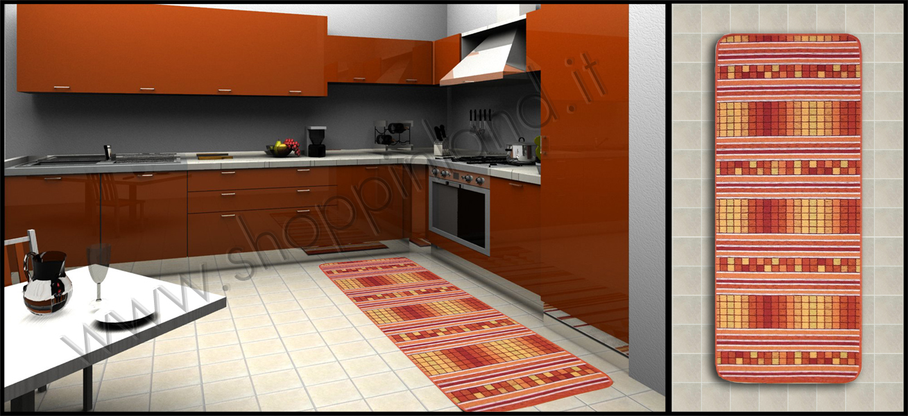 Tappeti moderni per arredare la cucina e il bagno a prezzi - Tappeti moderni per bagno ...