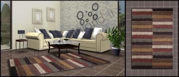 tappeti moderni e design in cotone lavabili che arredano il ...