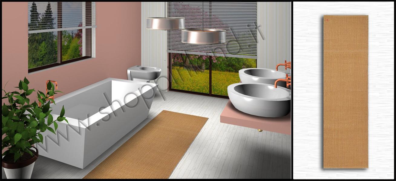 Arreda il bagno con fantasia: tappeti design in cotone antiscivolo ...