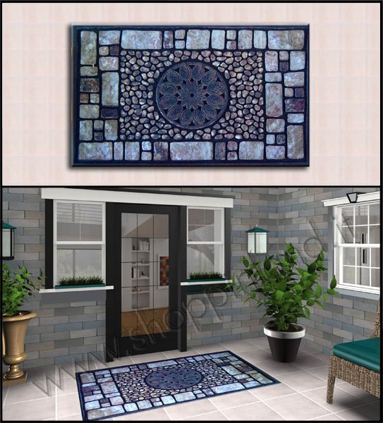 Tappeti shaggy moderni per arredare bagno e soggiorno a for Arreda la tua casa online