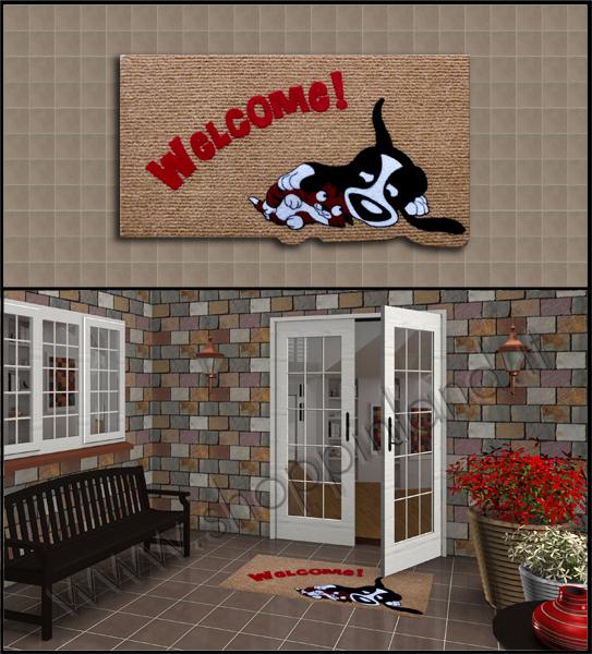 Tappeti shaggy zerbini eleganti per l 39 ingresso alla moda - Tappeti per ingresso casa ...