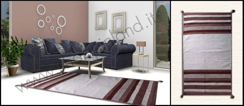 Tappeti shaggy eleganti in sconto su shoppinland for Tappeti per soggiorno online