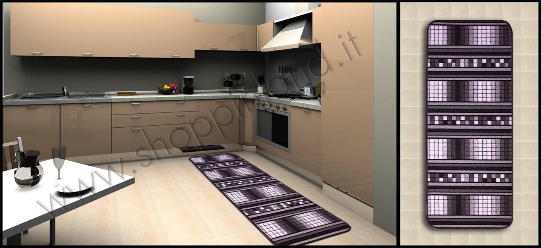 Tappeti Bamboo On Line a Prezzi Outlet: Tappeti per la cucina che ...