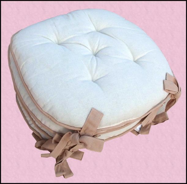 Cuscini in cotone per sedie della cucina low cost for Cuscini per sedie ikea
