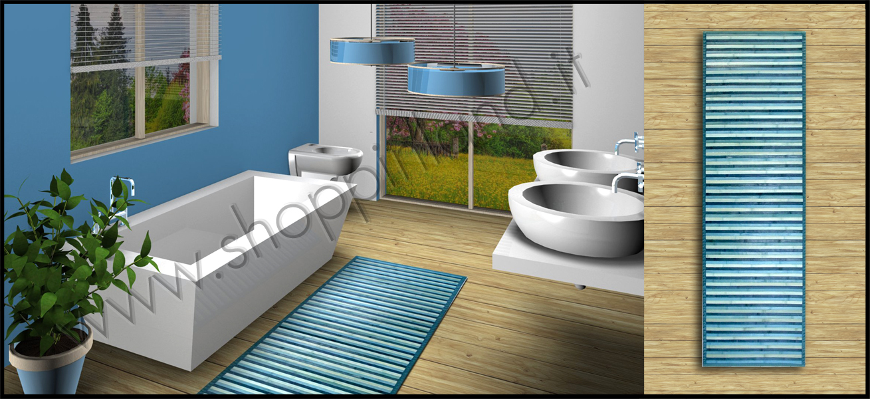 tappeti azzurro online in sconto shoppinland a prezzi bassi tappeti bagno