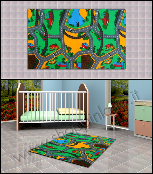 Acquista i nostri tappeti decorati per bambini shoppinland shoppinland - Tappeti anallergici ...