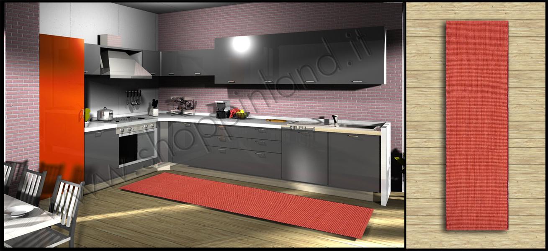 tappeti per la cucina in cotone online a prezzi bassi su shoppinland