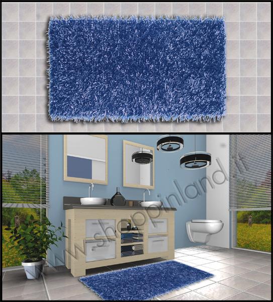 tappeti per il bagno shaggy online in sconto su shoppinland