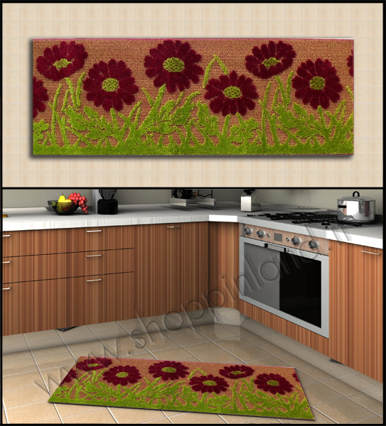 tappeti moderni e decorati online per la cucina in sconto su