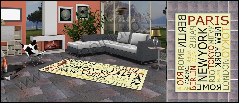 Scopri la nuova collezione di tappeti glamour per il soggiorno ...