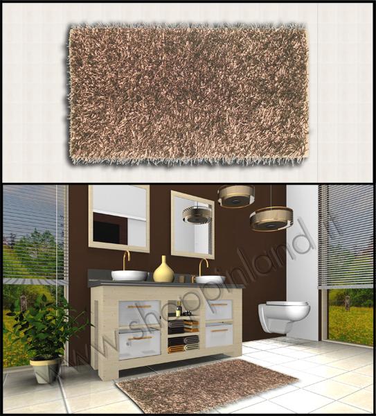 Acquista i nostri tappeti shaggy per il soggiorno shoppinland shoppinland - Tappeti bagno on line ...