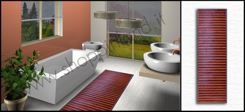 Tappeti shaggy moderni per il bagno online in sconto su - Tappeti bagno su misura ...