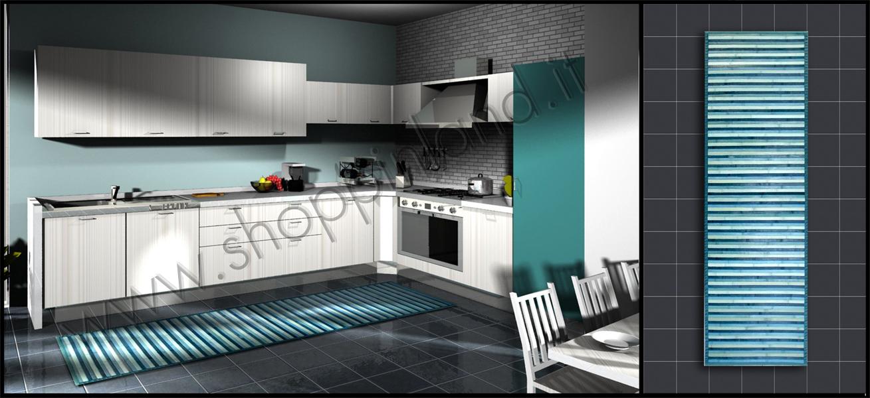 Tappeti moderni e decorati online per la cucina in sconto su ...