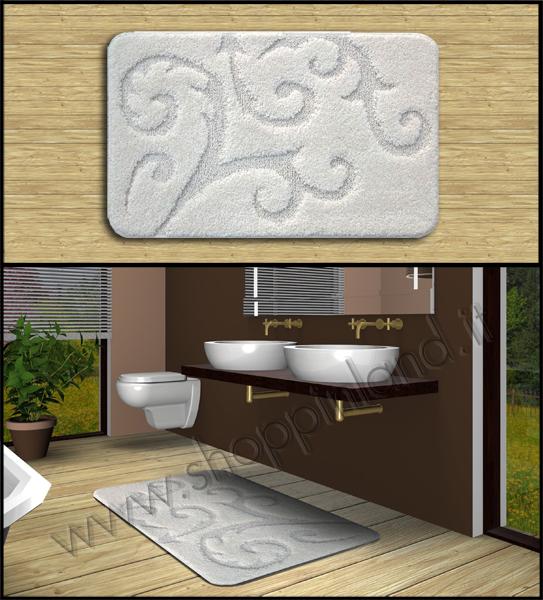 Tappeti per il bagno online in sconto su shoppinland - Tappeti bagno design ...