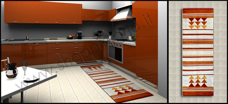 Tappeti per la cucina a prezzi outlet tappeti per la for Tappeti x cucina moderni