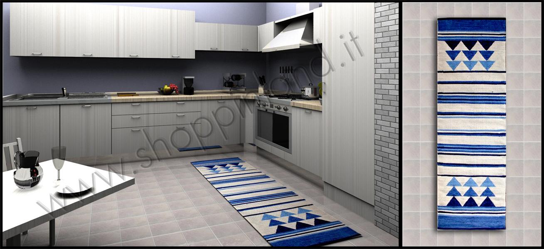 Tappeti per la cucina online in sconto su shoppinland - Tappeto cucina bamboo ...