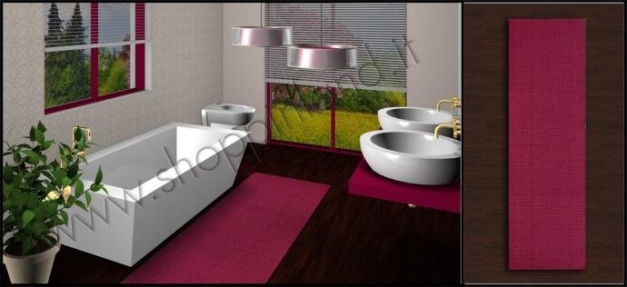 Acquista i nostri bellissimi tappeti per bagno in cotone rigati prezzi outlet shoppinland - Tappeti per bagno ...