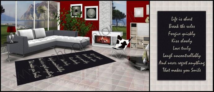 tappeti moderni per soggiorno   Zerbini a Prezzi Bassi