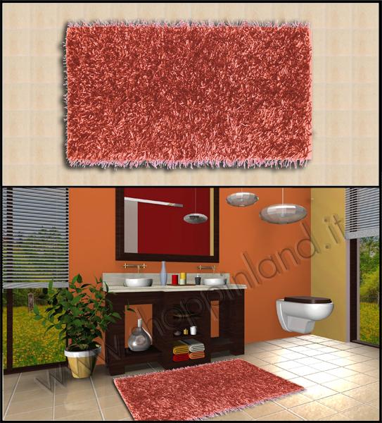 Acquista i nostri bellissimi tappeti per bagno in cotone rigati prezzi outlet shoppinland - Tappeti moderni per bagno ...
