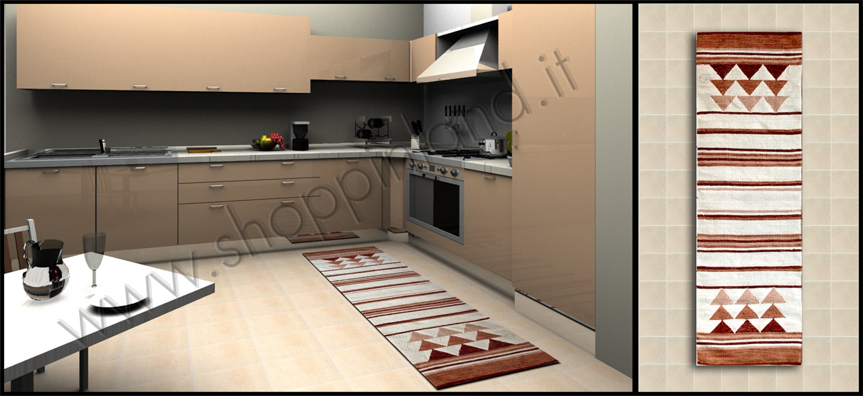Tappeti per la cucina in bamboo a prezzi bassi shoppinland - Tappeti per cucine ...
