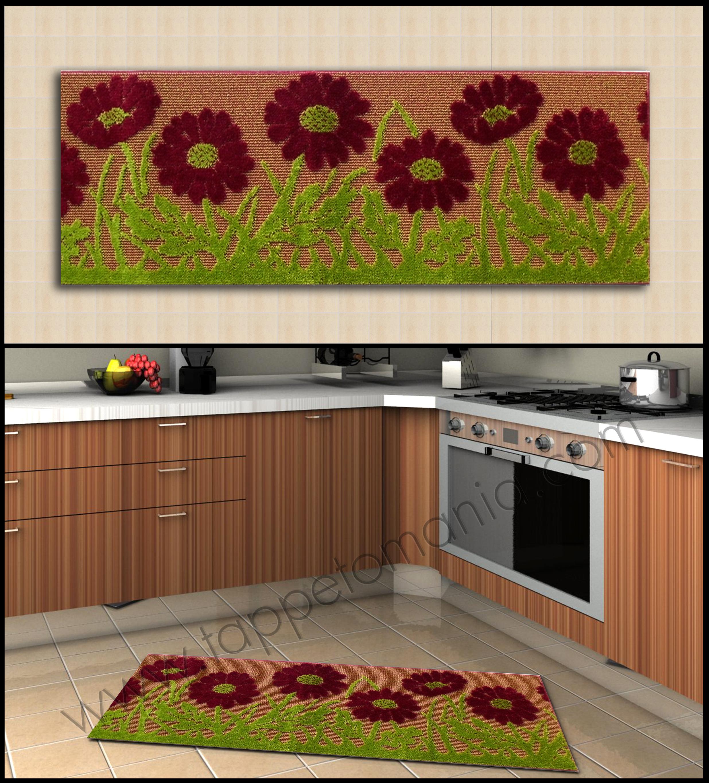 Tappeti per la Cucina Low Cost: tappeti della cucina eleganti
