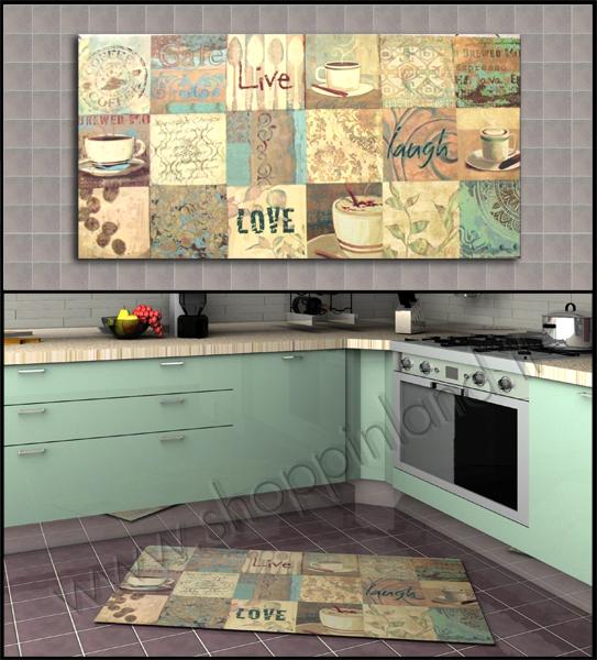 Tappeti per la Cucina Low Cost: tappeti corsia cucina moderni ...