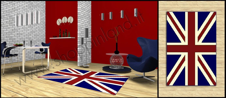... per il soggiorno moderni e glamour con bandiera inglese shoppinland