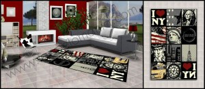tappeti neri per la cucina,salotto,soggiorno,zona living,zona giorno,bagno.