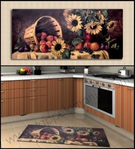 cucina tappeto girasole marchio_543x600