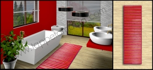 Vendita online complementi tessili design per arredare la casa, store tappeti, stores. ... anteprima-tappeto-per-la-cucina-bamboo-arancione-economico- ... vendita online tappeti moderni design cucina antimacchia,antiscivolo stuoie .